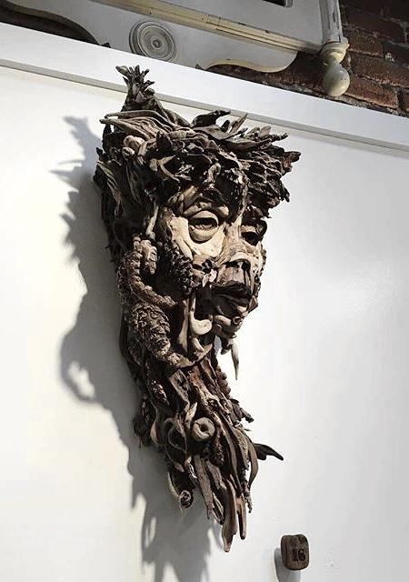 Found Wood Sculpture