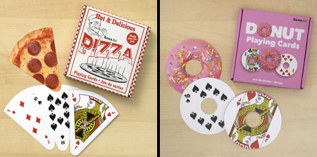Food Shaped Playing Cards