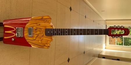 McDonald's Fries Guitar