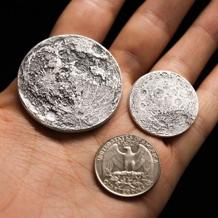 Shire Post Mint Moon Coin