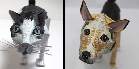 Paper Cats and Dogs