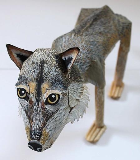 Kitty Rose Morgan Paper Dog
