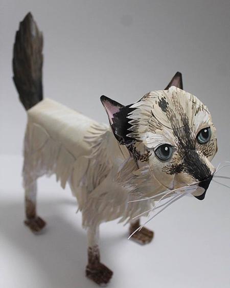 Kitty Rose Morgan Paper Cat