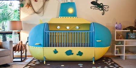Submarine Baby Crib