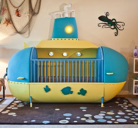 Submarine Bed
