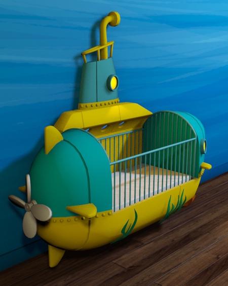 Radamshome Submarine Bed