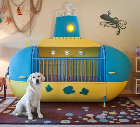 Submarine Baby Bed