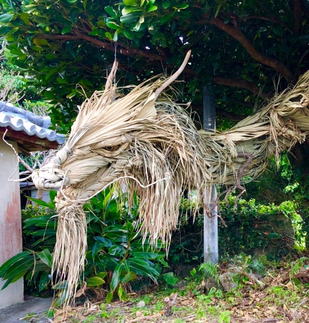 Palm Leaves Dragon