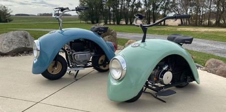 Volkswagen Beetle Scooters