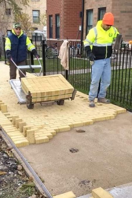 Yellow Brick Road in Chicago