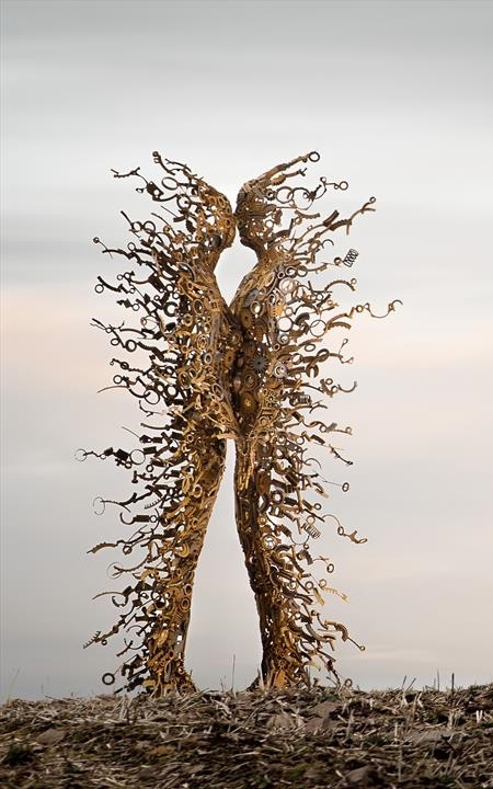 Penny Hardy Blown Away Sculptures