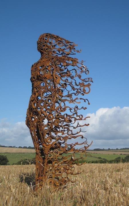 Blown Away Sculpture