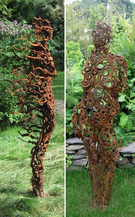 Sculptor Penny Hardy