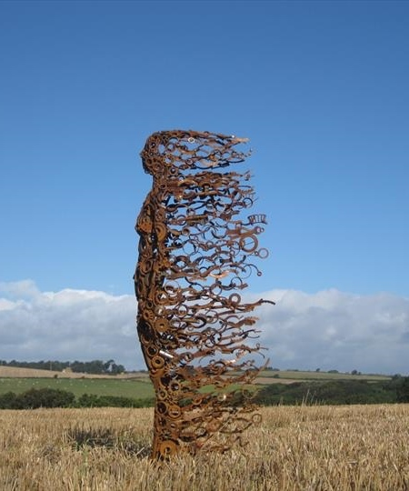 Penny Hardy Blown Away Sculpture