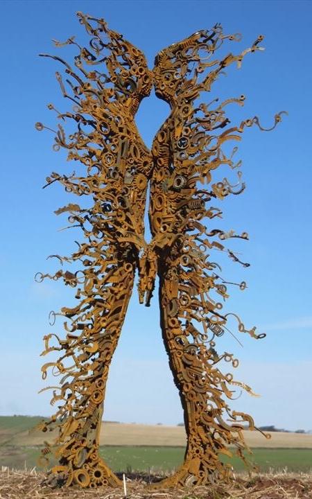 Cast Bronze Sculpture