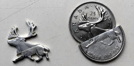 Cut Coins Art