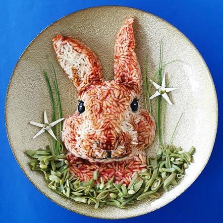 De Meal Prepper Food Art