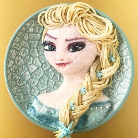 Frozen Food Art