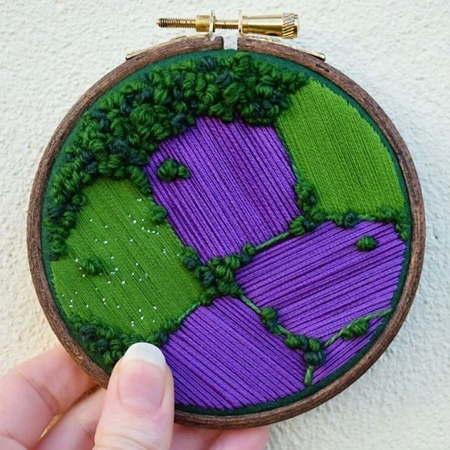 Embroidery Landscape