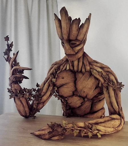 Groot Made of Gingerbread