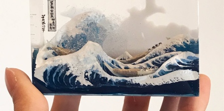 The Great Wave in 3D
