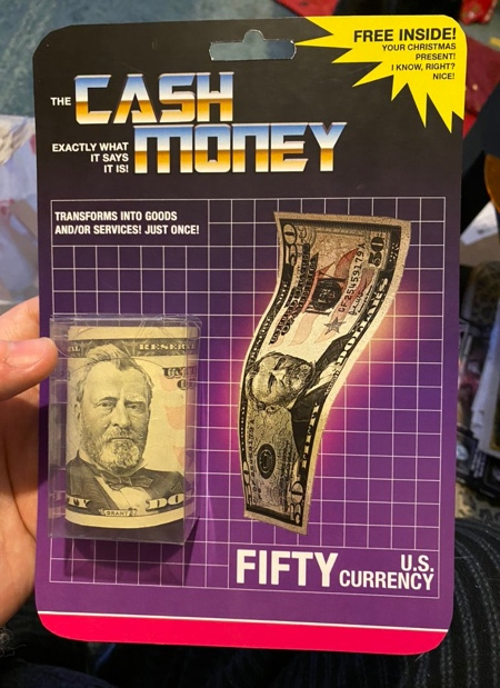 Cash Packaging