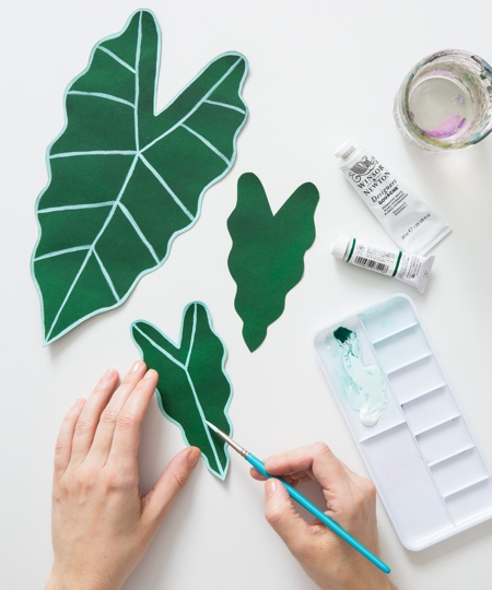 Plant Made of Paper