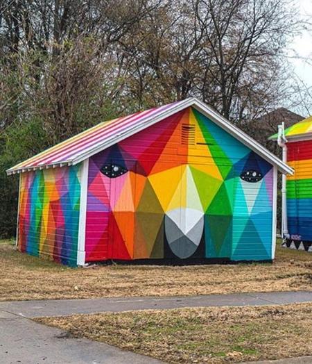 Okuda San Miguel Rainbow House