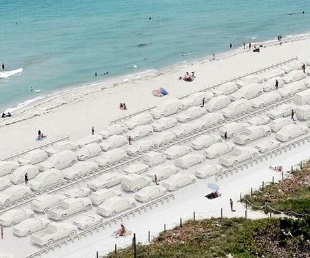Miami Beach Sand Cars