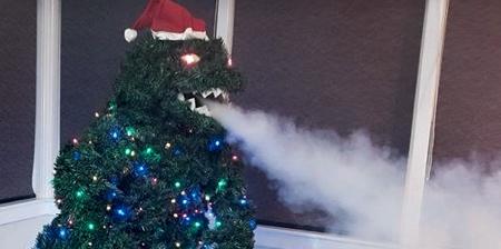 The Godzilla Christmas Tree