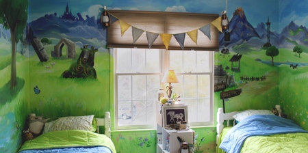Legend of Zelda Bedroom