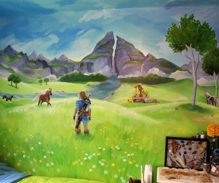 Zelda Bedroom