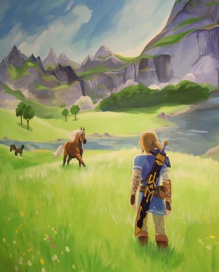 Zelda Mural