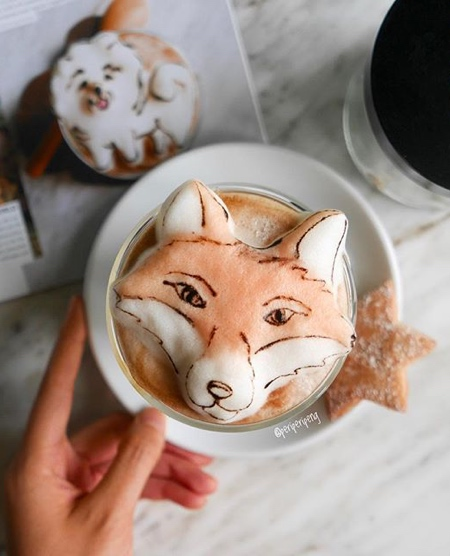 Daphne Tan Latte Art