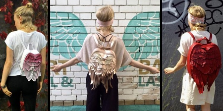Angel Wings Backpacks