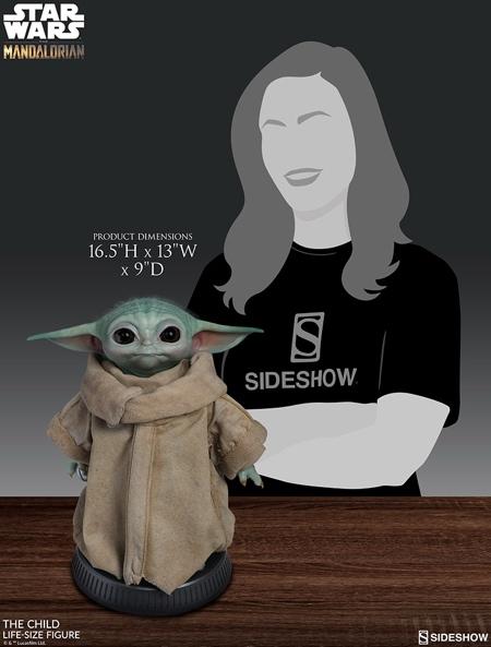 Sideshow Baby Yoda Figure