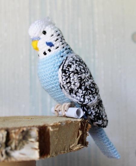 Tanya Zhylyayeva Crocheted Birds