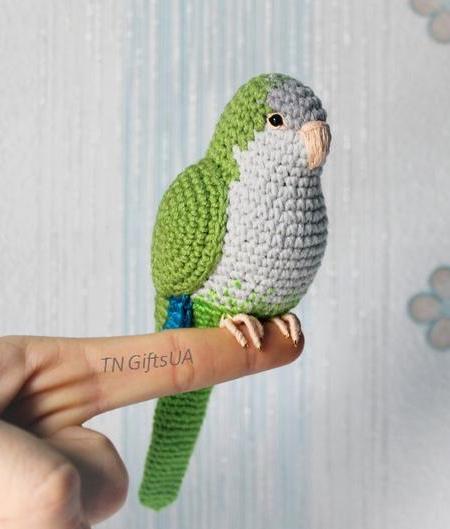 Tanya Zhylyayeva Crochet Birds