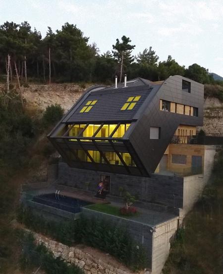 Modern Home on a Hill