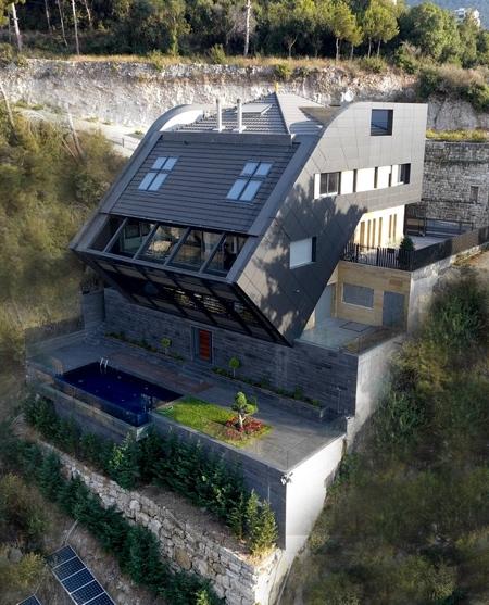 Modern Villa on a Hill