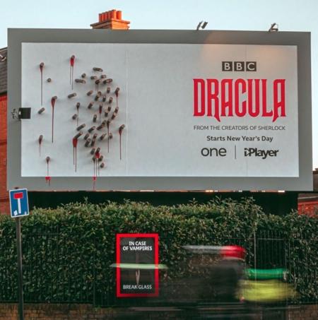 BBC Dracula Billboard