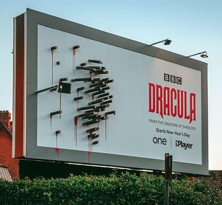BBC Creative Dracula Billboard