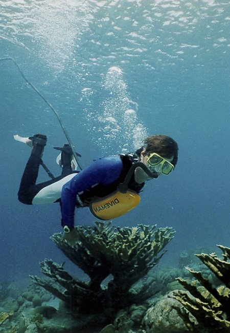 EXOlung Endless Underwater Breathing Device