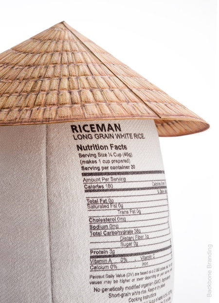 Backbone Branding Rice Packaging