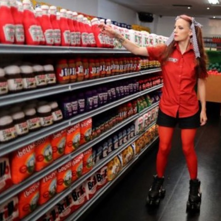Lucy Sparrow Supermarket