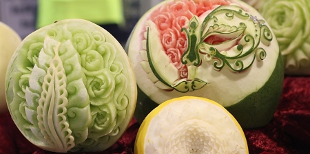 Food Carving by Daniele Barresi