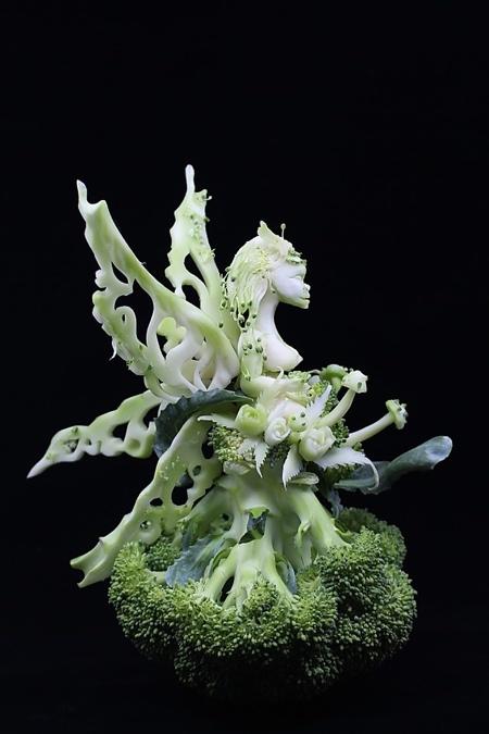 Broccoli Carving