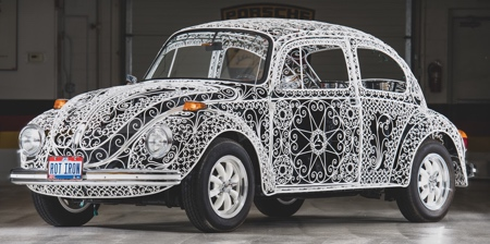 Volkswagen Beetle Iron Car