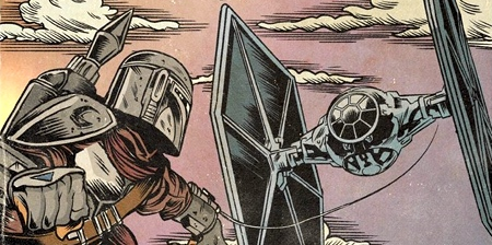The Mandalorian Comic Books