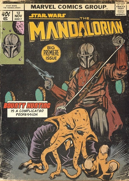 Mandalorian Comic Books